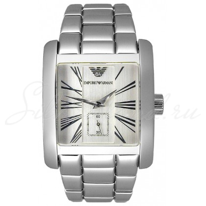 Купить AR0182 Часы EMPORIO  ARMANI Classic Man Rectangular