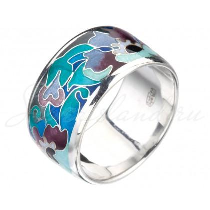 rn1003 купить кольцо с эмалью в москве