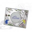 00400654/А серебряная рамка для фотографий детская