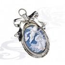 0040816/А медальон детский Ангел Хранитель