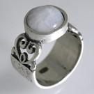 кольцо дено с лунным камнем 01R1390MS