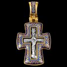 крест Акимов с эмалью 103071