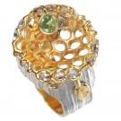 1095h кольцо с хризолитом