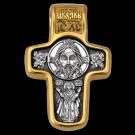 Крест Акимов из золота и серебра 301201