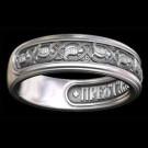 Кольцо охранное Анастасия. Птицы небесные. Арт. 3018
