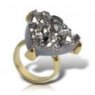 кольцо с друзой ana16 купить
