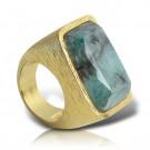 купить кольцо изумруд fanes