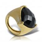 кольцо с ониксом fanes