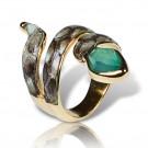 an464 кольцо с питоном