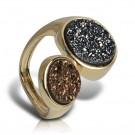 купить кольцо с друзой fanes