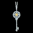 Round Kaleidoscope Key